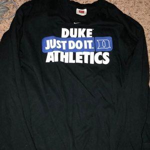 Men's Long Sleeve Duke t shirt